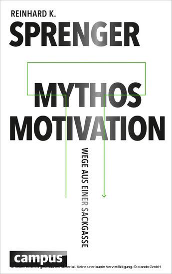 Mythos Motivation - Blick ins Buch