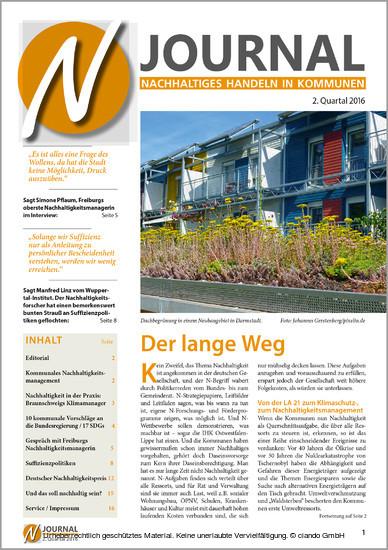 N-Journal Heft 2. Quartal 2016 - Blick ins Buch