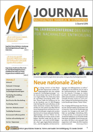 N-Journal Heft 3. Quartal 2016 - Blick ins Buch