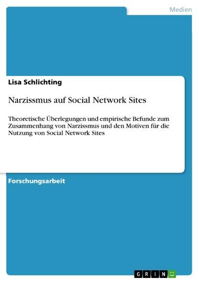 Narzissmus auf Social Network Sites - Blick ins Buch