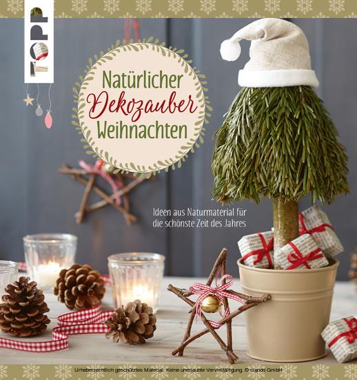 Natürlicher Dekozauber Weihnachten - Blick ins Buch