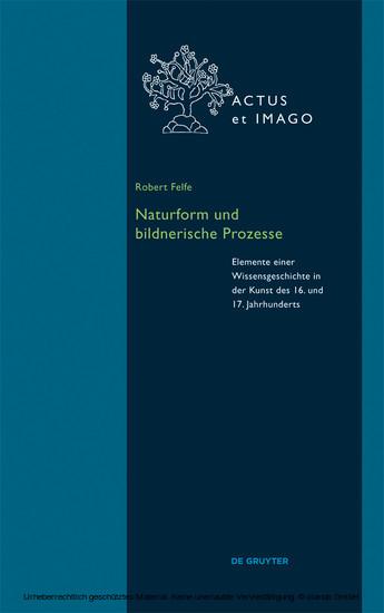 Naturform und bildnerische Prozesse - Blick ins Buch