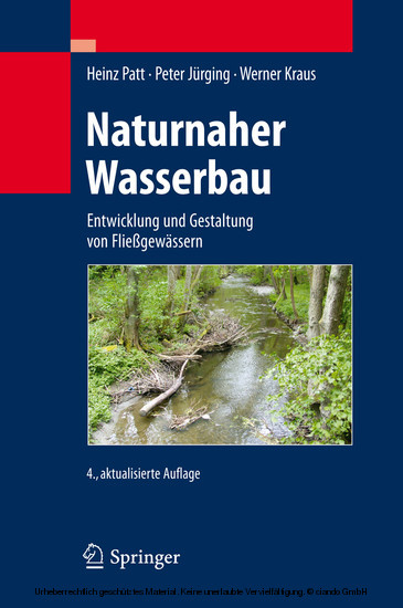 Naturnaher Wasserbau - Blick ins Buch