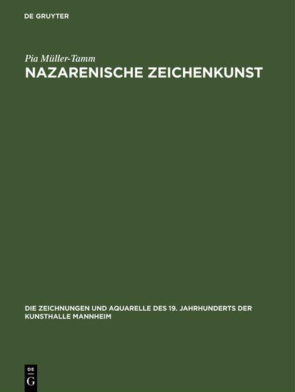 Nazarenische Zeichenkunst - Blick ins Buch