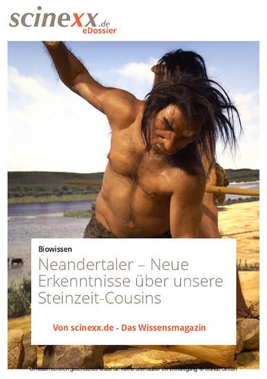 Neandertaler - Blick ins Buch
