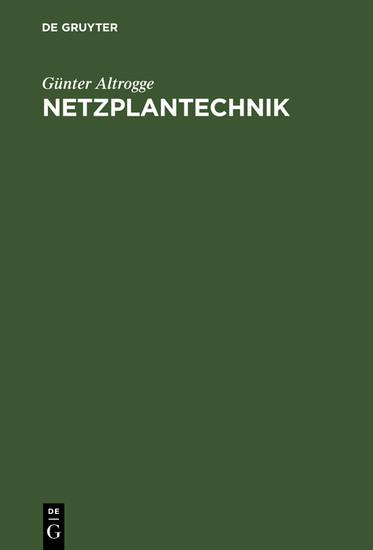 Netzplantechnik - Blick ins Buch