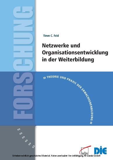 Netzwerke und Organisationsentwicklung in der Weiterbildung - Blick ins Buch