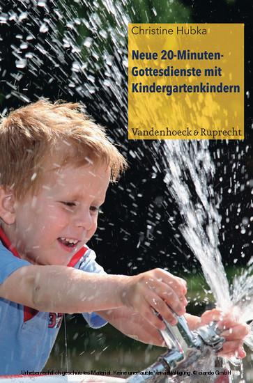 Neue 20-Minuten-Gottesdienste mit Kindergartenkindern - Blick ins Buch