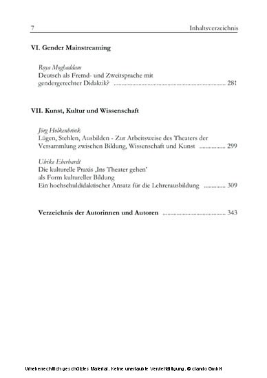 Neue Impulse in der Hochschuldidaktik - Blick ins Buch