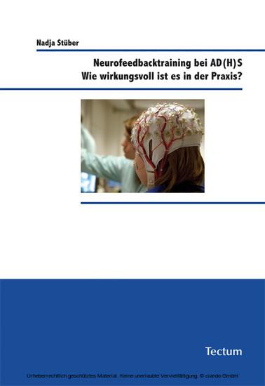 Neurofeedbacktraining bei AD(H)S - Blick ins Buch
