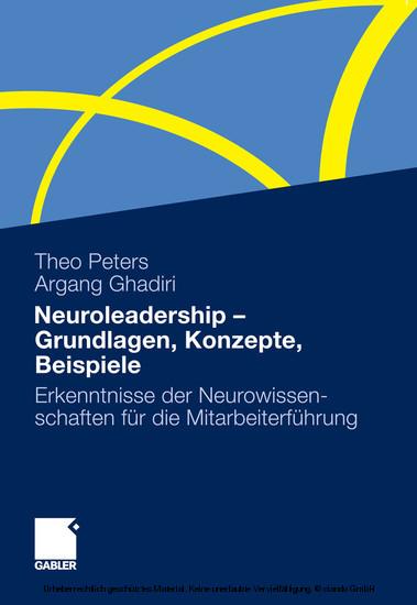 Neuroleadership - Grundlagen, Konzepte, Beispiele - Blick ins Buch
