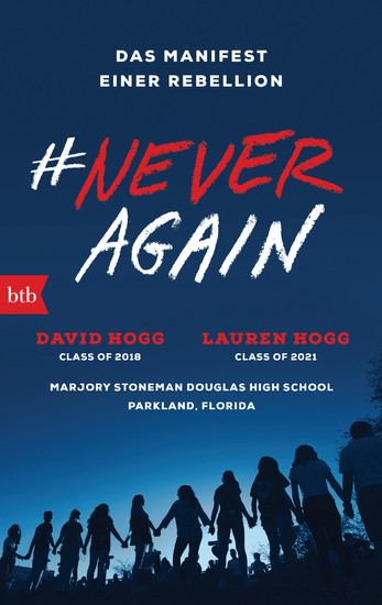 #NEVER AGAIN - Blick ins Buch