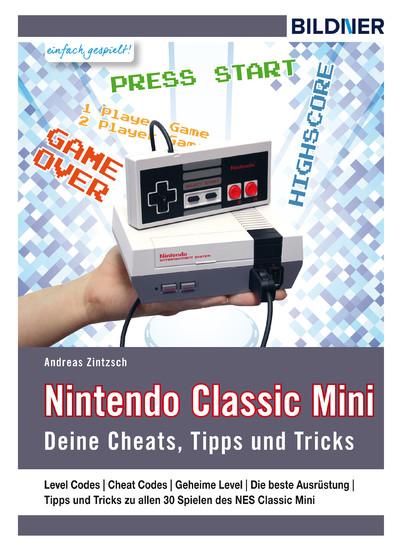Nintendo classic mini - Blick ins Buch