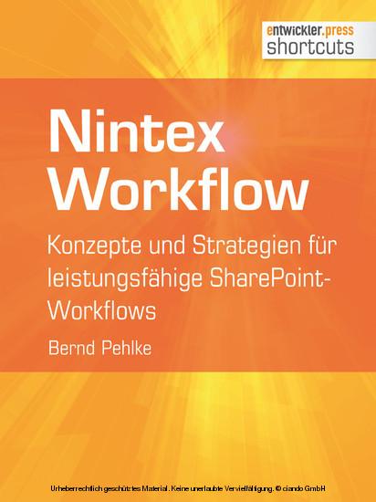 Nintex Workflow - Blick ins Buch