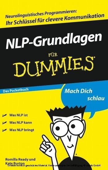 NLP-Grundlagen für Dummies Das Pocketbuch - Blick ins Buch
