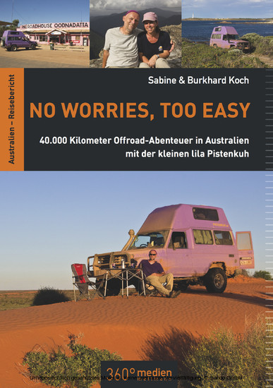 No worries, too easy - Blick ins Buch