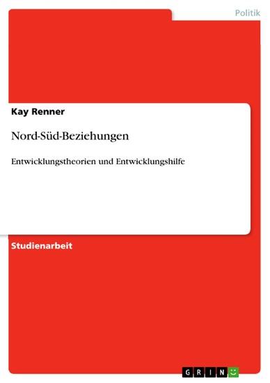 Nord-Süd-Beziehungen - Blick ins Buch