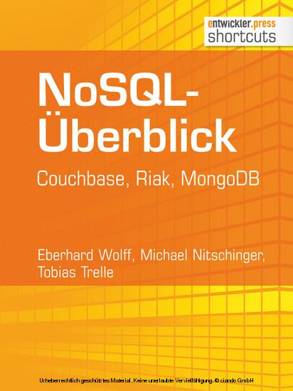 NoSQL-Überblick - Blick ins Buch