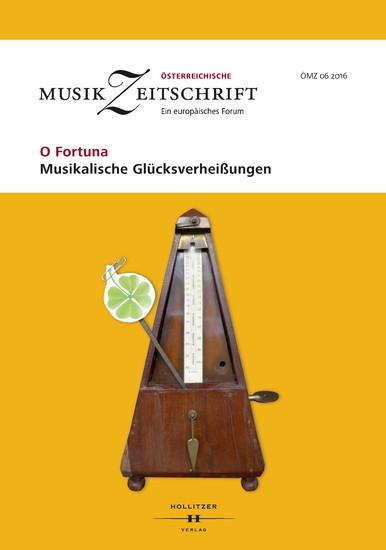 O Fortuna - Musikalische Glücksverheißungen - Blick ins Buch