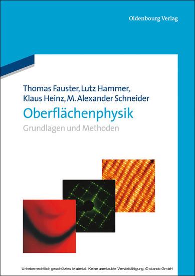 Oberflächenphysik - Blick ins Buch