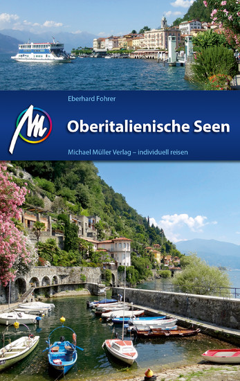 Oberitalienische Seen Reiseführer Michael Müller Verlag - Blick ins Buch