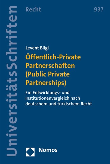 Öffentlich-Private Partnerschaften (Public Private Partnerships) - Blick ins Buch