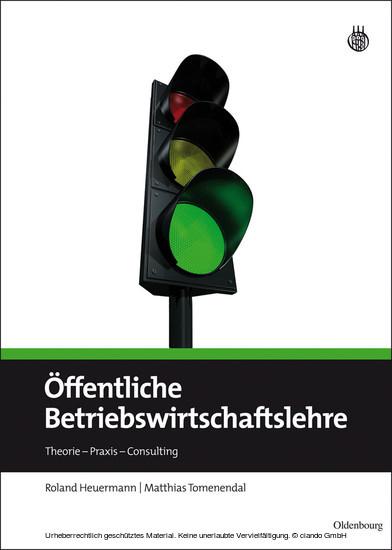 Öffentliche Betriebswirtschaftslehre - Blick ins Buch