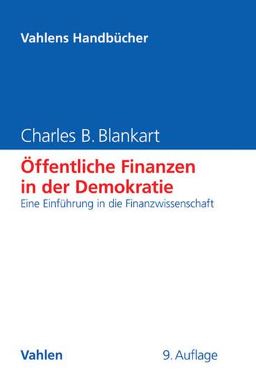 Öffentliche Finanzen in der Demokratie - Blick ins Buch
