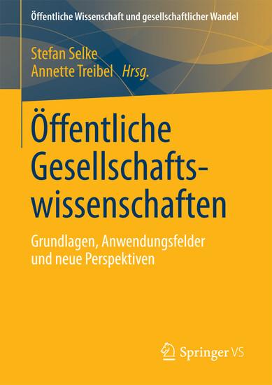 Öffentliche Gesellschaftswissenschaften - Blick ins Buch