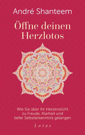 Öffne deinen Herzlotos - Blick ins Buch