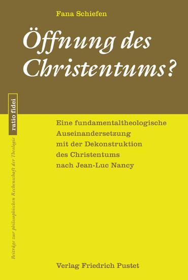 Öffnung des Christentums? - Blick ins Buch