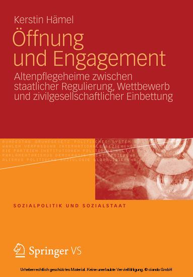 Öffnung und Engagement - Blick ins Buch