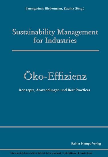 Öko-Effizienz - Blick ins Buch