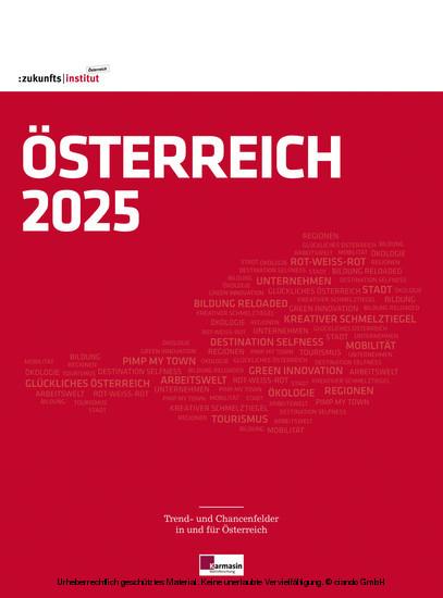 Österreich 2025 - Blick ins Buch