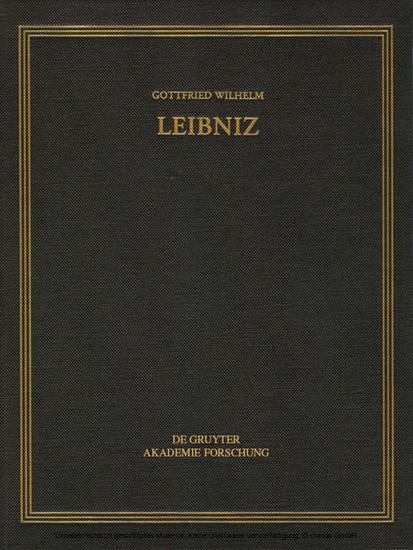 Oktober 1704 - Juli 1705 - Blick ins Buch