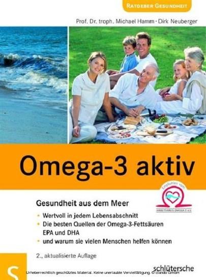 Omega-3 aktiv - Blick ins Buch