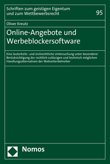 Online-Angebote und Werbeblockersoftware - Blick ins Buch