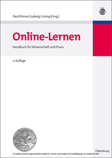 Online-Lernen - Blick ins Buch