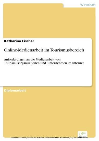 Online-Medienarbeit im Tourismusbereich - Blick ins Buch