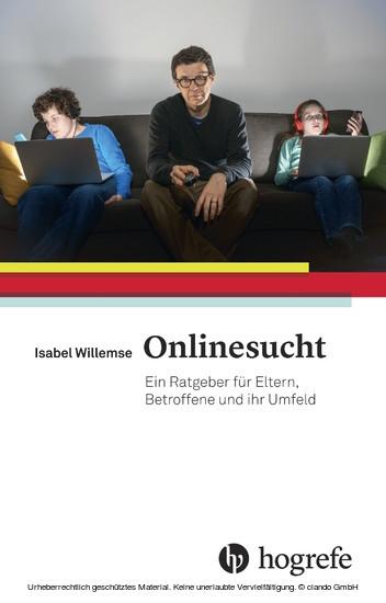 Onlinesucht - Blick ins Buch