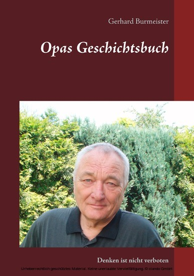 Opas Geschichtsbuch - Blick ins Buch