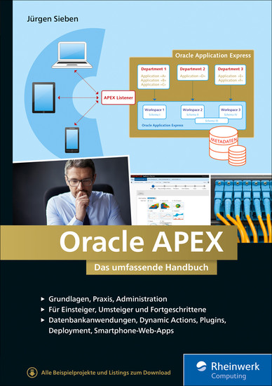 Oracle APEX - Blick ins Buch