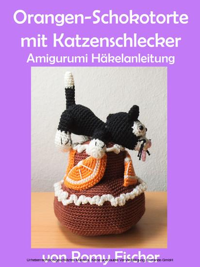 Orangen-Schokotorte mit Katzenschlecker - Blick ins Buch