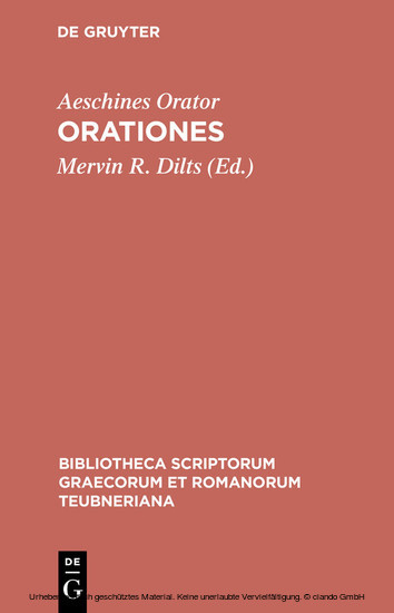 Orationes - Blick ins Buch