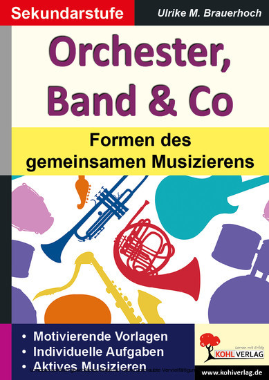 Orchester, Band & Co - Blick ins Buch