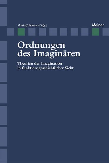 Ordnung des Imaginären - Blick ins Buch