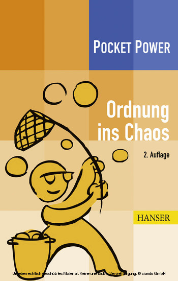 Ordnung ins Chaos - Blick ins Buch