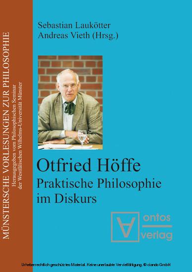 Otfried Höffe - Blick ins Buch
