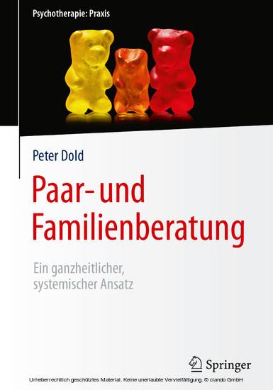 Paar- und Familienberatung - Blick ins Buch