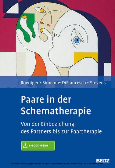 Paare in der Schematherapie - Blick ins Buch
